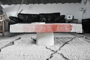 Table basse BUNKR par Solid Studio